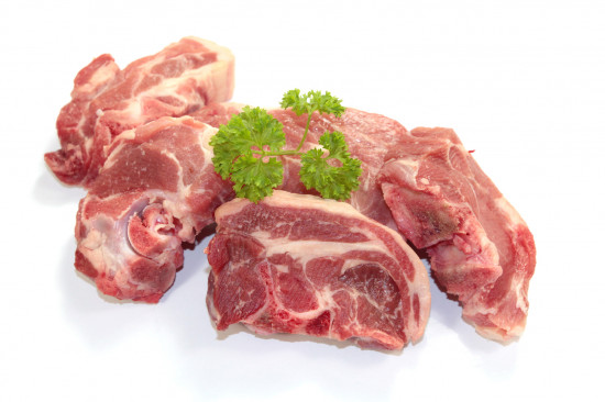Colliet d'agneau