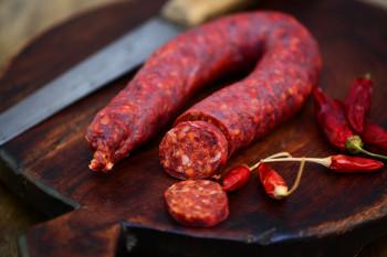 Chorizo brasse